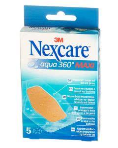 3M Nexcare Pflaster Aqua 360 Maxi - 5 Stk. à 59mm x 88mm