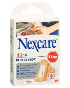 3M Nexcare Pflaster Blood Stop ass - 14 Stk.