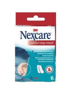 3M Nexcare Blood Stop Nasal Plugs - Nasenbluten Box - 6 Stk.