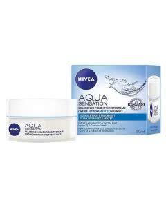 Nivea Aqua Sensation Belebende Feuchtigkeitscreme - 50 ml