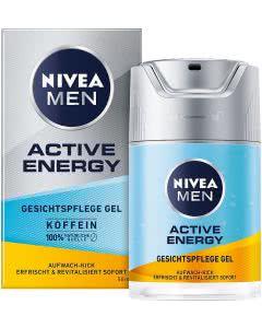 Nivea Men Active Energy Gesichtspflege Gel - 50 ml