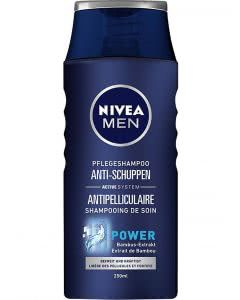 Nivea MEN Hair Care Anti-Schuppen Power Shampoo - 250 ml