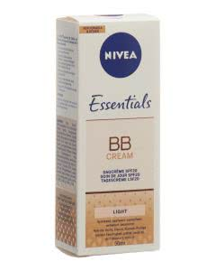 NIVEA Face Essentials BB CREAM Light LSF 20 - 50ml