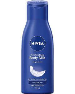 Nivea Reichhaltige Body Milk - 75ml