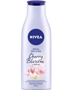 Nivea Sensual Body Lotion Cherry & Jojoba Oil - 200ml