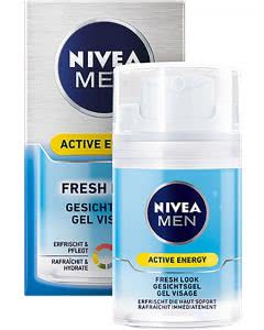 Nivea MEN Active Energy Fresh Look Gesichtsgel - 50 ml