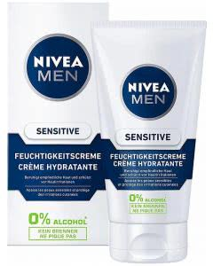 Nivea MEN Sensitive Feuchtigkeitscreme - 75 ml