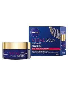 Nivea Vital Soja Anti-Age Nachtcreme - 50 ml