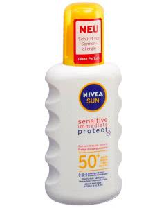Nivea Sun Sensitive Immediate Protect Sonnenspray LSF 50+ - 200ml