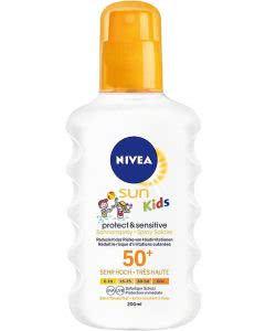Nivea SUN Kids Protect & Sensitive Sonnenspray LSF 50+ - 200 ml
