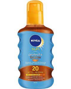 Nivea SUN Protect & Bronze Sonnenöl LSF 20 - 200 ml