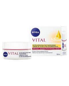 Nivea Vital Extra Reichhaltige Tagescreme - 50 ml