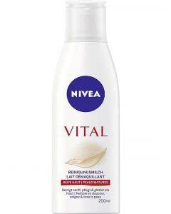 Nivea Vital Reinigungsmilch - 200 ml