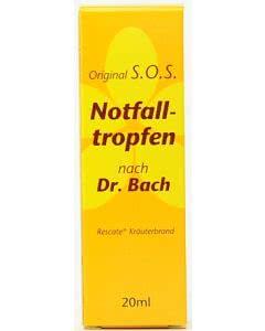 Original SOS Notfalltropfen (Tentan) 20ml oder 30ml  21.90/29.90