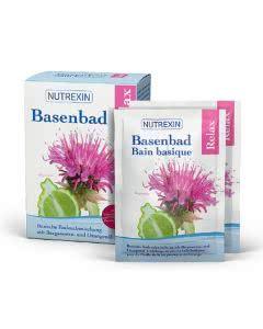 Nutrexin BasenBad Relax Bergamotte Orangen - 6x60g