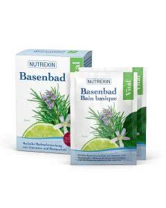 Nutrexin BasenBad Vital Rosmarin Limetten - 6x60g