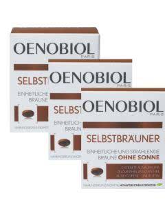 Saison-Set: Oenobiol Autobronzant Selbstbräuner - 3x30 Kaps.