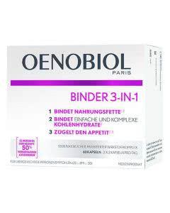 Oenobiol Binder 3 in 1 Kapseln - 60 Stk.