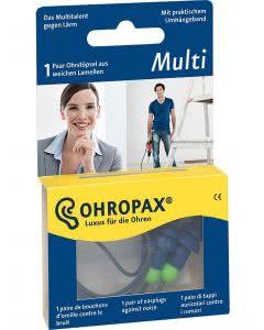 Ohropax Multi mit Bändel - 1 Paar