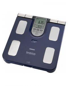Omron Körperfettmessgerät HBF-511 mit Waage blau - 1 Stk.