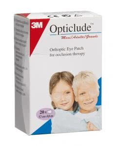 3M Opticlude Maxi Augenpflaster - 20 Stk. à 8cm x 5.7cm