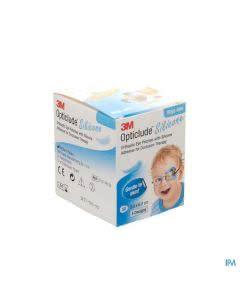 3M Opticlude Silicon Augenpflaster Mini Boys - 50 Stk. à 5cm x 6cm