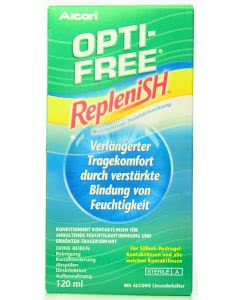 Optifree Replenish Multifunktionslösung - 120ml