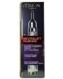 L'Oreal Revitalift FILLER (HA) Aufpolsterndes Serum mit Hyaluron - 16.5ml