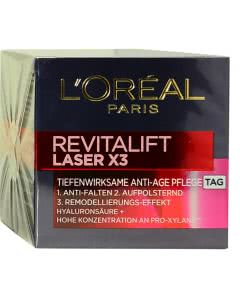 L'Oreal Revitalift Laser X3 Anti-Age Creme-Maske und Booster - TAG - 50ml
