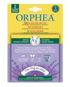 Orphea Mottenschutz Aufhänger mit Lavendelduft - 2 Stk.