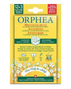 Orphea Mottenschutz Blätter mit Blütenduft - 12+3 Stk.
