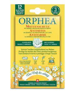 Orphea Mottenschutz Blätter mit Blütenduft - 12 Stk.