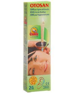 Otosan Ohrenkerzen mit Propolis - zur Ohrhygiene 2 Stk.