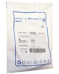 Qualimed Urinbeutel 1.5l 90cm ohne Rücklaufventil - 10 Stk.