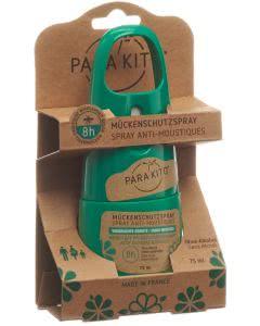Parakito Zecken- und Mückenschutzspray natürlich - 75 ml