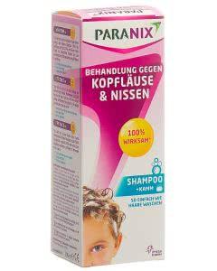 Paranix Behandlung gegen Kopfläuse und Nissen inkl. Kamm - 200ml Shampoo