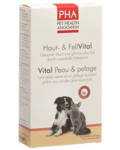 PHA Hunde und Katzen - Haut- und Fellvital Lösung - 250ml