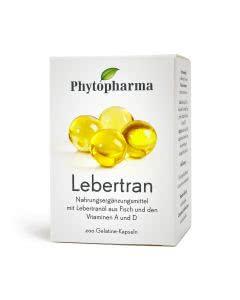 Phytopharma Lebertranoel - 200 Kapseln