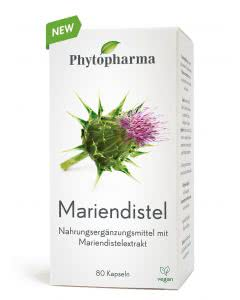 Phytopharma Mariendistel Kapseln - 80 Stk.