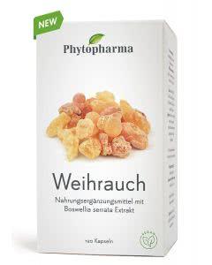 Phytopharma Weihrauch Kapseln - 120 Stk.
