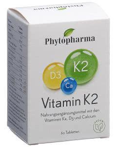 Phytopharma  Vitamin K2 - 60 Stk.