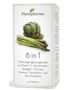 Phytopharma 6 in 1 - 120 Tabl.