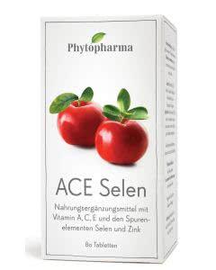 Phytopharma ACE Selen & Zink - Dose mit 80 Tabletten