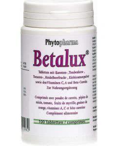 Phytopharma Betalux - Vitamine und Mineralien für die Augen - 100 Tabl.