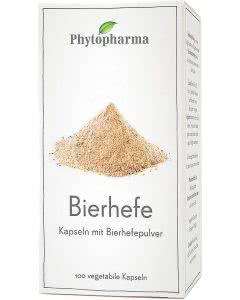 Phytopharma Bierhefe Kapseln - 100 Stk.
