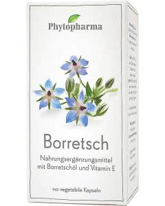 Phytopharma Borretschöl Kapseln - 110 Stk.