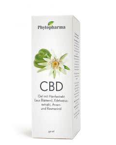 Phytopharma CBD Muskel-Gel mit Hanfextrakt Dispenser - 50ml