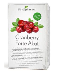 Phytopharma Cranberry FORTE akut 120mg - 30 Tabl.