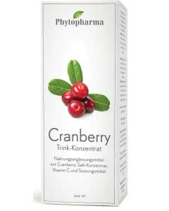 Phytopharma Cranberry Trink-Konzentrat - 200ml