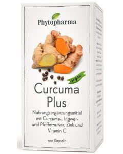 Phytopharma Curcuma plus - Kapseln - 100 Stk.